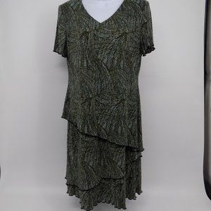 'Connected Apparel' Tiered Dress
